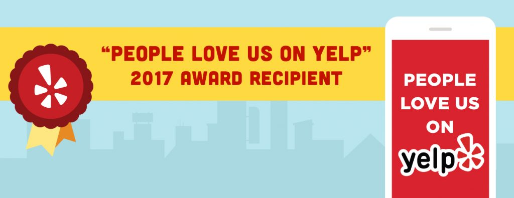 Yelp Award Badge